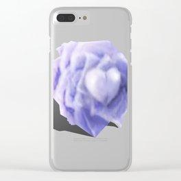 Rose 02 Clear iPhone Case