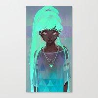 loish Canvas Prints featuring lumen by loish