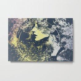 Third Stone From The Sun II | graffiti female portrait Metal Print