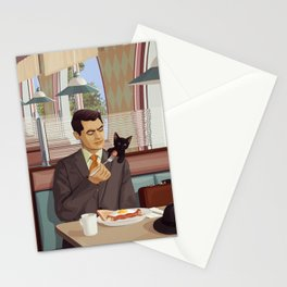 A Most Peculiar Man Stationery Cards