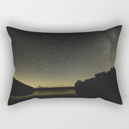 Lake Reflection Rectangular Pillow