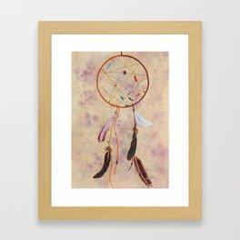 Dreams Come True: aura Framed Art Print