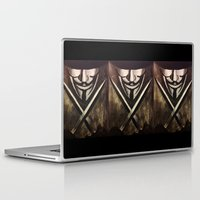 vendetta Laptop & iPad Skins featuring VENDETTA by The Traveling Catburys
