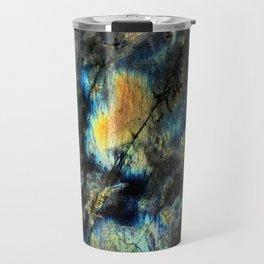 Illuminated Structure: Labradorite1 Travel Mug