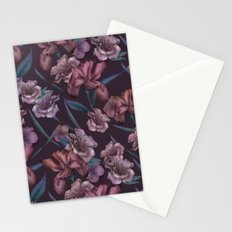 Hand-Drawn Bohemian Floral  Stationery Cards