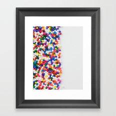 Birthday Sprinkles Framed Art Print