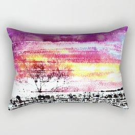 Skies Ablaze Rectangular Pillow