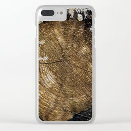 Counting the Years Clear iPhone Case