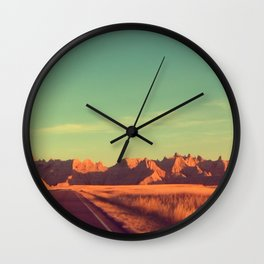 Badlands Wall Clock
