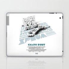 Chato Font poster Laptop & iPad Skin