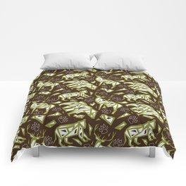 Spirit Animals Mountain - Bear - Cougar - Elk Comforters