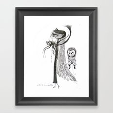 welcome home annabelle Framed Art Print