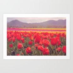 La Vie en Rose Art Print