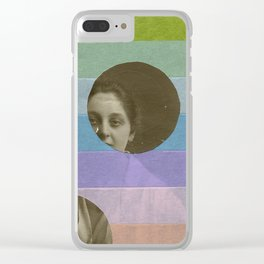 Under The Clue Clear iPhone Case