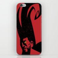 diablo iPhone & iPod Skins featuring Diablo by Blackbean Studio