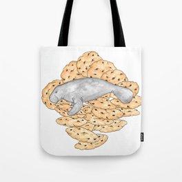 Manatee Cookies (lined) Tote Bag