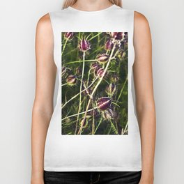 LOVE in a Mist - NIGELLA damascena Biker Tank