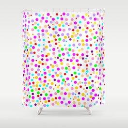 Colorful Rain 15 Shower Curtain