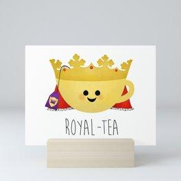 Royal-tea Mini Art Print