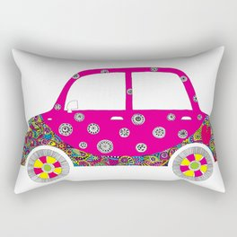 Colorful car Rectangular Pillow
