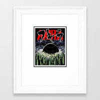 akira Framed Art Prints featuring akira by tama-durden