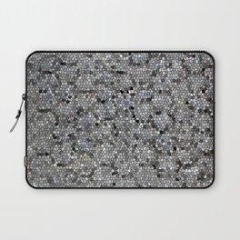 Grey Mosaic pattern Laptop Sleeve