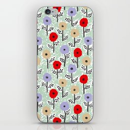 Vintage Meadow by Veronique de Jong iPhone Skin