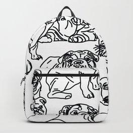 bulldogs, bulldogs and more bulldogs Backpack