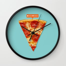 Pizza Wall Clock
