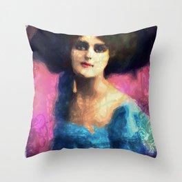 Mary Hadda Throw Pillow