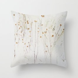 little flower Throw Pillow