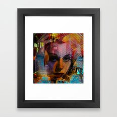 What  way to follow ?  Framed Art Print