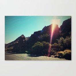 lavaland rainbow - three Canvas Print