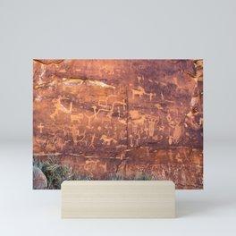 Ancient Rock_Art Panel 0619 - Utah Mini Art Print