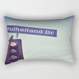 Mulholland Dr. Rectangular Pillow