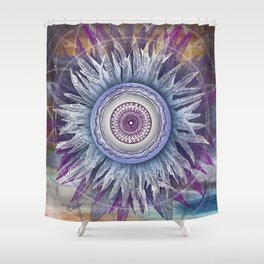 Crown Chakra (II) Shower Curtain