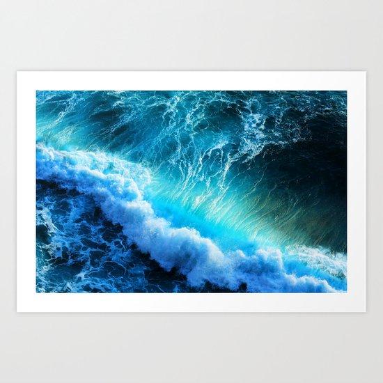Waves IIV Art Print