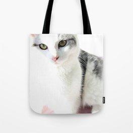 Cloud Cat Tote Bag