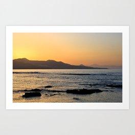 Northern Gran Canaria's Coastline Art Print