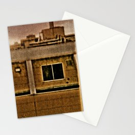 TOKYO: Room View Man at Window. Stationery Cards