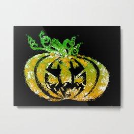 Halloween Pumpkin Metal Print