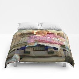 The Angel Upstairs Comforters