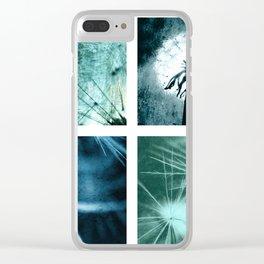 Dandelion art Clear iPhone Case