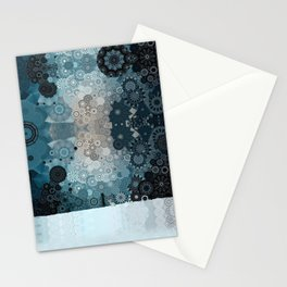 Fancy Snow Stationery Cards