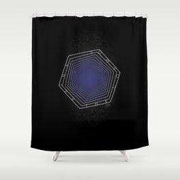 Enter the Cosmos: Vertigo Shower Curtain
