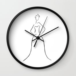 Final Dress Wall Clock