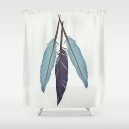 If I had wings Shower Curtain