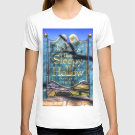 Sleepy Hollow Village Sign T-shirt