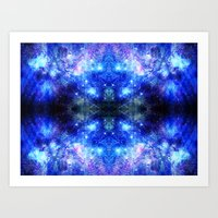 celestial Art Prints featuring Celestial by Altered Logic