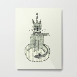Scarf Metal Print